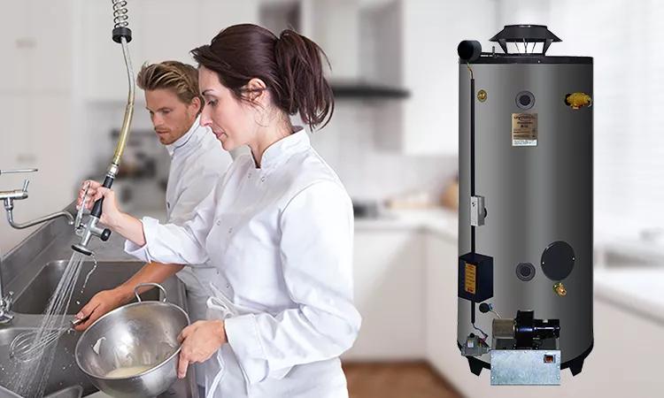低氮新品:商用容积式燃气热水器GNU